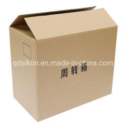 Пользовательские картонная коробка из гофрированного картона и текучесть кадров и при печати