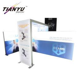 حامل عرض المعرض مع صندوق إضاءة LED من شاشة عرض تيانيو