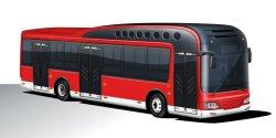 Syp 12 미터 60 시트 전자 Ciy 버스
