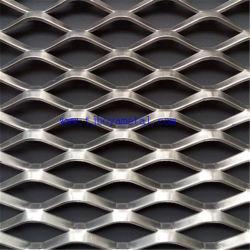 China proveedor agujero Diamante aplanadas de Malla de Metal Expandido china Tianjin Factory