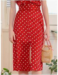 100%는 실크 숙녀를 주문 설계한다 Potty Skirt Silk Garment