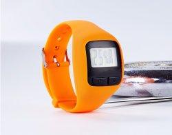 Tipo de reloj Multifunción digital 3D podómetro para calorías