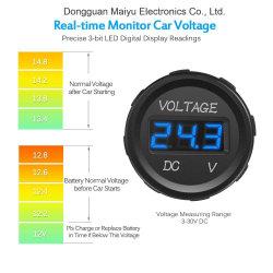 LED-Bildschirmanzeige-Digital-Voltmeter-Installationssatz