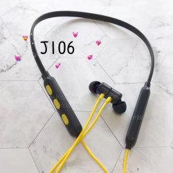 Bluetooth in-oortelefoon met nekband Stereo Bass Handsfree-hoofdtelefoon met Microfoon voor volumeregeling voor een smartphone