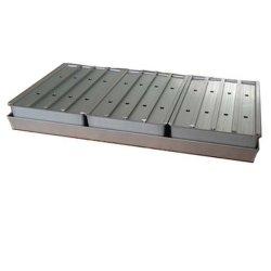 Acier inoxydable / bac en aluminium pour contenir des liquides ou les articles en vrac pour le séchage Pre-Freezing ou en vrac
