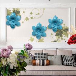 壁の装飾、花の壁の芸術のためにハングする金属の花