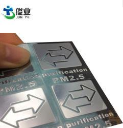 Ultraligero de metal de níquel Electroformed autoadhesivo Etiqueta Autoadhesiva estándar de señalización de galvanoplastia logotipo puede ser personalizado de diseño gratis