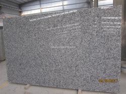 Высокая полированного гранита белого цвета кривой шкалы серого камня столешницами для кухня/рабочую поверхность/Vanitytop