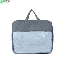 Couverture de la Courtepointe Reuable Customzied imprimé sac de l'organiseur avec fenêtre claire