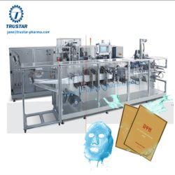 Masque facial entièrement automatique Machine d'emballage Machine de remplissage automatique machine repliable