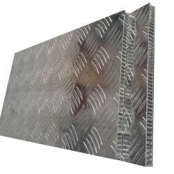 Schienen-Widerstand-Aluminiumbienenwabe-zusammengesetzte LKW-Bodenplatte