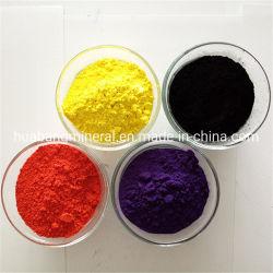 Fe2O3 مسحوق مخضب غير عضوي أكسيد الحديد الأحمر/الأسود/الأزرق/الأخضر CAS 1332-37-2 فيريك أكسيد الصبغات