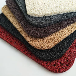 Bunte Antibeleg Belüftung-Ring-Fußboden-Teppich-Matte in Rolls mit Nettoschutzträger für Innen-/im Freien/Hotel/Handels-/Multifunktionsteppich