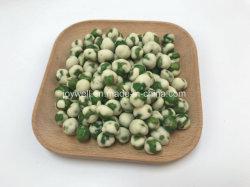 Laag - Erwten van de Smaak van de calorie de Goede Witte Wasabi Met een laag bedekte