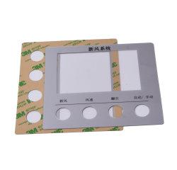 Materieller Polycarbonat-Fingerspitzentablett-Drucken ACRYLSAUERCNC, der Acrylkennsatz schneidet