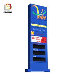 Ätzung des Richtungszeichen-Tw-Träger LED-Schaukastens, der Träger-Zeichen für Tankstelle-Ölpreis-Pfosten-Zeichen bekanntmacht