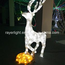 Custmozedのクリスマスの照明取り外し可能なデザインLEDモチーフのトナカイライト