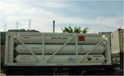 Gas hilarante industrial N2O, óxido nitroso.