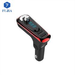 Transmissor FM para carro Bluetooth adaptador de rádio sem fio Kit para automóvel com USB Carregador Veicular suporte para o leitor de MP3 TF Card Unidade Flash USB