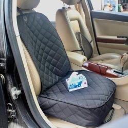 Material acolchado cómodo impermeable en la tapa del asiento delantero