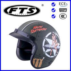 Motorrad-öffnen zusätzliche Sicherheits-Schoner ABS Gesichts-Strahlen-Sturzhelm-volles Gesicht halbes modulares F380 mit PUNKT u. ECE-Bescheinigungen