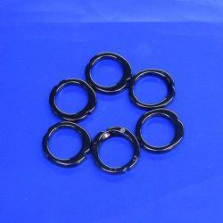 Peça de vestuário de alta decoração refratário de peças de cerâmica Zircónia Button Ring
