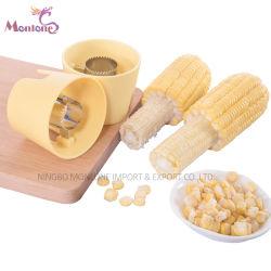 Insieme di plastica dell'estrattore del cereale della taglierina della PANNOCCHIA di granturco del nuovo dispositivo della cucina di 2PC