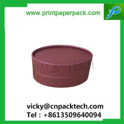 Custom Rigid Coated Paper Hair Spa Packaging Box Sieraden Oorbellen Box Deksel En Base Box Round Soap Packaging Box