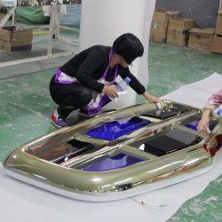 Segni acrilici dell'automobile del bicromato di potassio incisi laser di gestione commerciale automatica