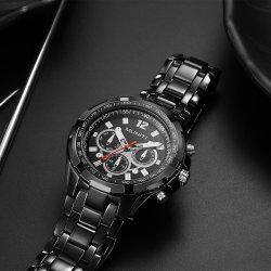 Les hommes de quartz Muniti montre automatique montre-bracelet avec boîte de Luxe