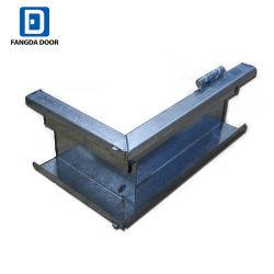 Resistente al óxido y corrosión de metal marco de la puerta de acero galvanizado