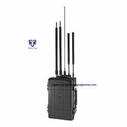 حزمة الهاتف المحمول 4G/3G/2G WFi2.4G/5Gpsl1-L5 ووكي توكي UHF/Vhfpower إشارة الهاتف المحمول لشاحن بطارية السيارة بقدرة 220 فولت إلى DC12 فولت Jammer