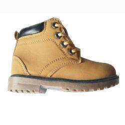 Neue Entwurfs-Form-Kind-beiläufige Schuh-Fußbekleidung PU-Aufladungen (AL2715)