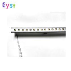 Светодиодные индикаторы линии моста на стене здания отеля освещения трубы линейных настенные светильники из алюминия 12W жесткий газа освещение DMX 512 RGB LED линейные лампы для использования вне помещений