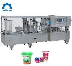 Заправка жидкости машины K чашки заполнения и герметизации машины