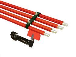 Grúa utilizada especial de seguridad eléctrica Deslice la barra de bus de cable