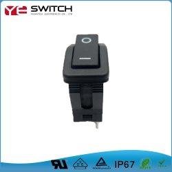 IP67는 자동 로터리 스위치를 방수 처리한다