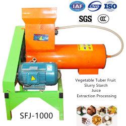 Gemüsefrucht-Melone-Knolle-Schlamm-Extraktion-Saft, der aufbereitende Maschine herstellt