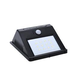 Iluminação Solar Alta Luminosidade exterior com o Interruptor do Sensor de Movimento Humano