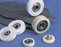 Rolamentos de roda deslizante de plástico de nylon