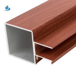 Grani di legno popolari del blocco per grafici di finestra di alluminio di disegno per la Malesia