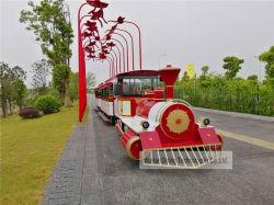 Diesel certificado CE tren turístico turismo modelo de tren de DSW-D58