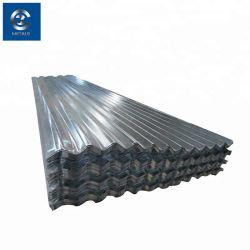 Zink-Beschichtung runzelte Platte galvanisiertes Stahlblech-gewelltes Blatt-Panel Stahldes dach-Blatt-Aluminiumdach-Tafelgi-PPGI/PPGL/PVC