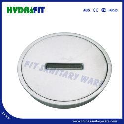 Plein couvercle circulaire en alliage de zinc drainer de plancher (FD3120)
