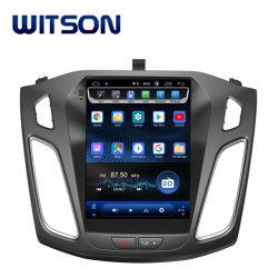 شاشة Wittson 9.7 بوصة Android 9.0 Vertical Screen Multimedia Tesla مشغل GPS للسيارة دي في دي لفورد فوكاس 2012-2017