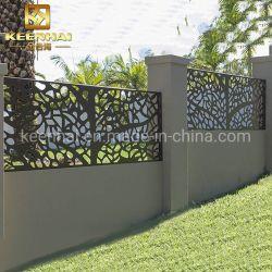 Jardin décoratifs en aluminium métal découpé au laser Clôture (Keenhai-CW004)