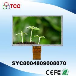50 Bildschirmanzeige-Baugruppe des Pin-7 Zoll-800X480 RoHS der Farben-TFT LCD