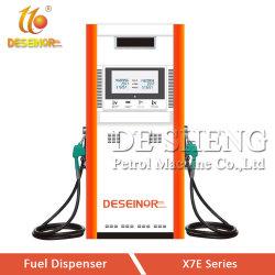 Grande Taxa de Fluxo do Bico Único Bico Duplo da Bomba de Combustível dispensador de estação de gás com luz de LED