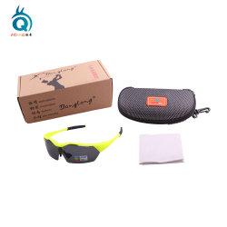 Sport personnalisé des lunettes de soleil avec EVA cas