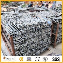 Ardesia naturale del nero di spaccatura/ardesia arrugginita/ardesia di rame/pietra blu della coltura dell'ardesia per il rivestimento della parete